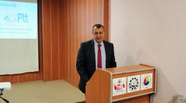 PTT ve DİTSO İşbirliği ile seminer düzenlendi