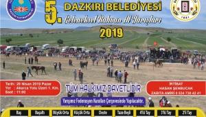 Rahvat at yarışları Dazkırı'da yapılacak