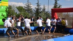 Sandıklı'da Çamur ve Termal Festivalinin ikincisi düzenlendi