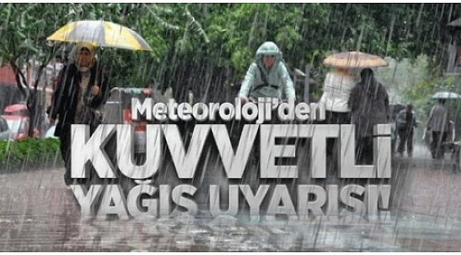 Sıcaklıklar mevsim normallerinin altında yağış uyarısı