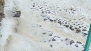 Son Dakika ……Sultandağı'nı dolu vurdu