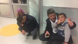 Taytak Küçük Ahmet'in Tedavisi İçin Düğmeye Bastı