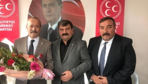 Taytak'tan Başkan Sarı'ya Hayırlı Olsun Ziyareti