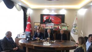 Taytak'tan Seçilen MHP'li başkanlara ziyaret