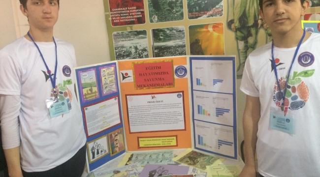 TÜBİTAK Bilim Fuarında AİHL Projeleri sergilendi