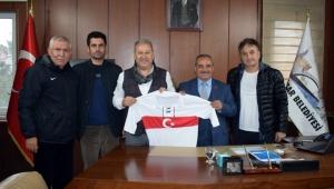 TÜFAD'tan Başkan Şahin'e ziyaret