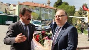 Vali Mustafa Tutulmaz Başkan Nihat Sarı'yı Ziyaret etti