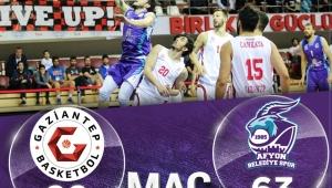 Afyon belediye Baskette yine hüsran 89-63