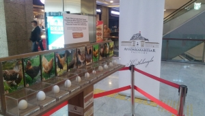 Afyon yumurta sektörünün liderliği ankara'da tanıtılıyor