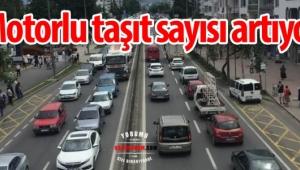 Afyonkarahisar'da trafiğe kayıtlı araç 222 595 oldu