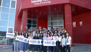 AKÜ IEEE Kocatepe Kulübü Öğrencilere Mesleki Proje Eğitimi Verdi.