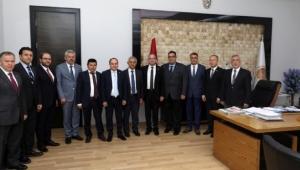 ATSO'dan Başkan Zeybek'e Tebrik