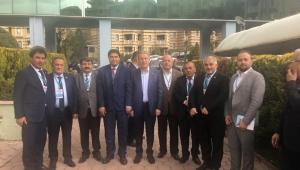 Başkan Sarı AK Parti Kızılcahamam kampına katıldı