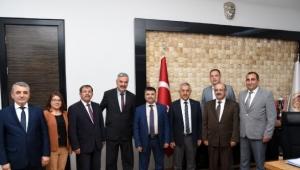 Başkan Zeybek'e Tebrik Ziyaretleri Devam Ediyor