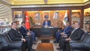 Bölge Müdürlerinden Başkan Mustafa Çöl'e Ziyaret