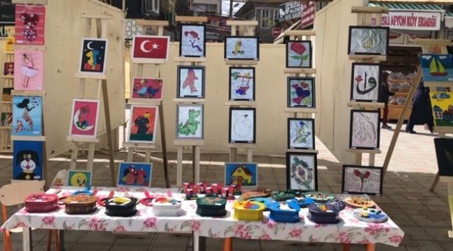 Bolvadinli Minik Sanatçılardan Dev Sergi