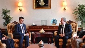 DP Genel Başkanı Uysal : Sayın Mansur Yavaş'ı, seçilen tüm büyükşehir belediye meclisini tebrik için buradayız