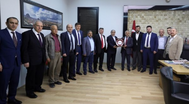 Müsiad'dan Başkan Zeybek'e Ziyaret