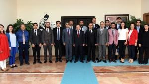 Rektör Karakaş'a Tebrik Ziyaretleri Devam Ediyor