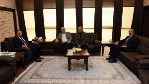 Rektör Karakaş Dernek Yöneticilerini Kabul Etti