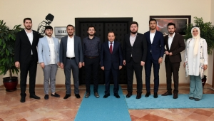 Rektör Karakaş Genç Müsiad Başkanı Sert'i Kabul Etti