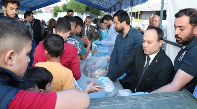 Serteser ve 15. Meslek komitesi iftar çadırında