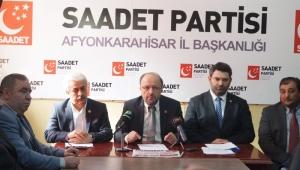 SP. İl Başkanı Şenel : Türkiye 1. Meclis ruhunu arıyor