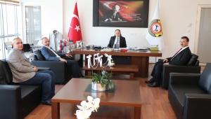 Sultandağı Belediye Başkanı Aldırmaz'dan Serteser'e Ziyaret