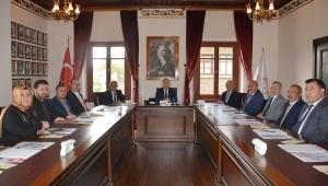 Termal Turizm Merkezleri Altyapı Hizmet Birliği Meclis Toplantısı Yapıldı
