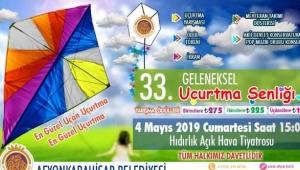 Uçurtma Şenliği 4 Mayıs'ta Yapılacak
