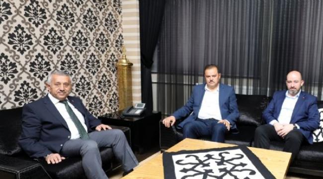 Yerel Yönetimler Başkan Yardımcısı Abdurrahman Öz'den Ziyaret