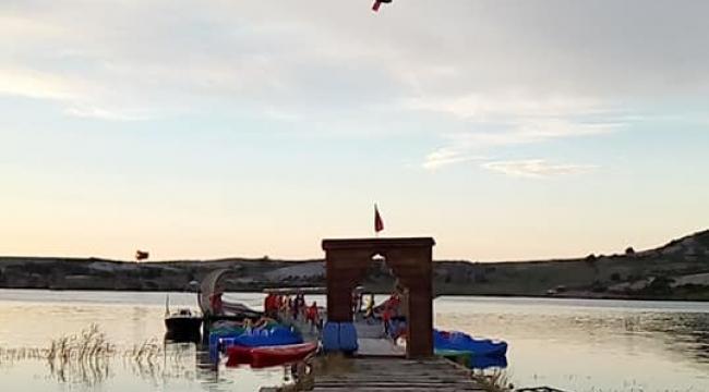 Frig vadisinde ilk hava balonu uçuşu gerçekleştirildi
