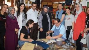 Prof. Dr. Mustafa karataş taş medrese'yi ziyaret etti