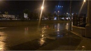 Son Dakika....Otogar Kavşağından oteller bölgesine kadar yağış nedeniyle uzun kuyruklar oluştu