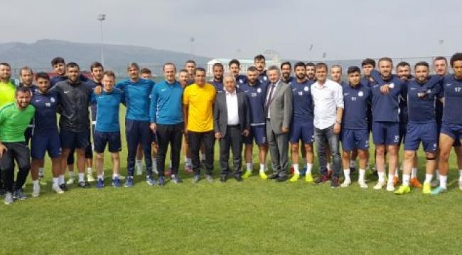 Başkan Zeybek Afjet Afyonspor Antrenmanı İzledi