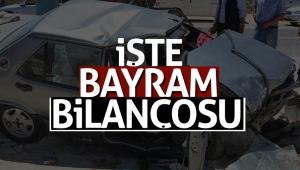 Bayram tatilinde trafik kazalarının acı bilançosu: 52 ölü, 427 yaralı