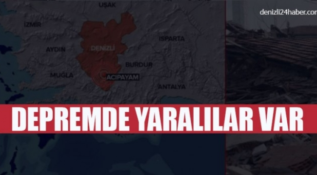 Depremden dolayı 23 kişi hastanelere başvurdu