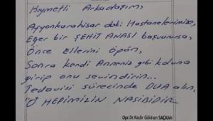 Duygulandıran Reçeteye MHP'li Taytak'tan teşekkür
