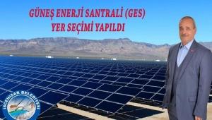 Güneş Enerji Santrali (GES) Yer Seçimi Yapıldı