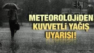 Meteorolojiden uyarı Sağanak yağış geliyor
