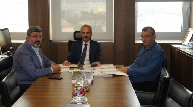 Milletvekili Özkaya'dan Karayolları Genel Müdürüne ziyaret