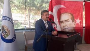 Milletvekili Yurdunuseven Emirdağ'da İGM toplantısına katıldı.