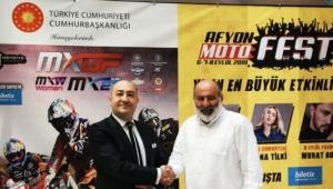 Park Afyon Dünya Motokros Şampiyonasına Sponsor Oldu