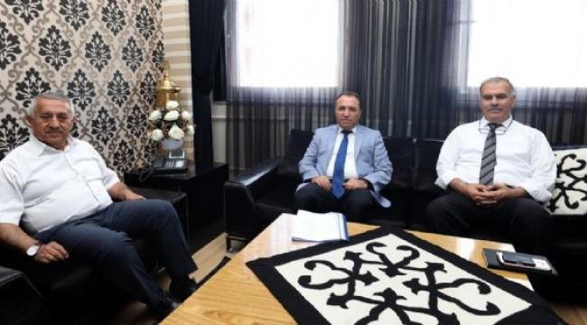 Rektör Karakaş'tan Ziyaret