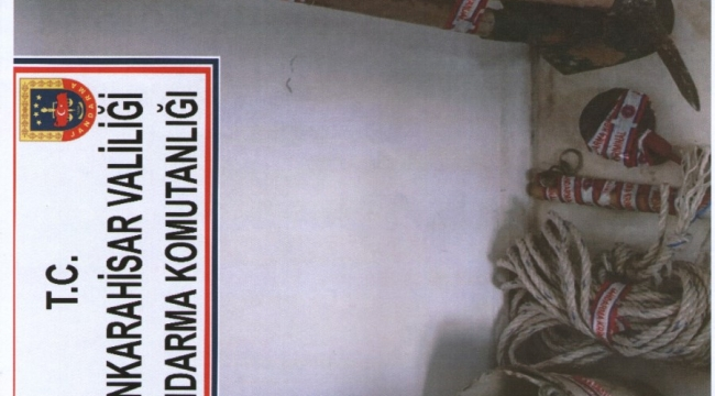 Son Dakika….Afyonkarahisar'da Kaçak kazı yapan şahıslar yakalandı