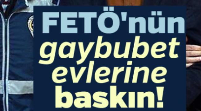 Afyonkarahisar'da FETÖ Operasyonu 8 gözaltı var