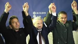 AK Parti Döğer, Erkmen ve Işıklar'da kongreye gitti