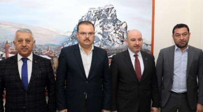 Ak Parti Yerel Yönetimler Başkan Yardımcısı Abdurrahman Öz'den Ziyaret