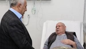 Başkan Zeybek Yeni Yıla Hastanede Girdi