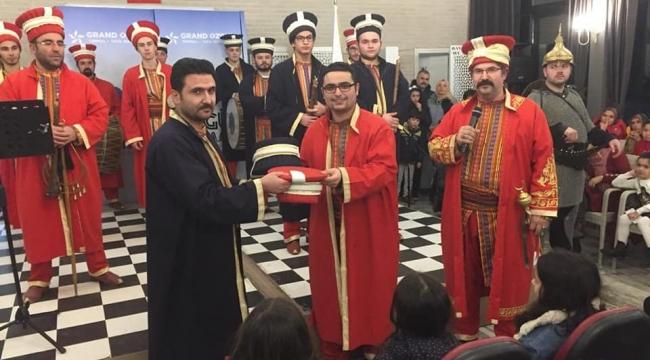 Belediye mehter Takımından Başkan Zeybek'e ziyaret